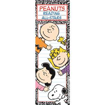 Peanuts Reading All Stars Bookmarks By Eureka
