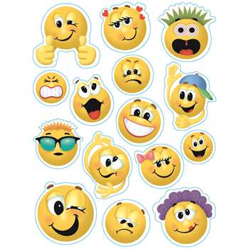 Emoticons 12 X 17 Window Clings By Eureka