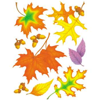 Window Cling Fall Leaves 12 X 17 By Eureka