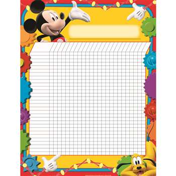 Shop Mickey Mouse Clubhouse Incentive Chart 17X22 Poster - Eu-837001 By Eureka