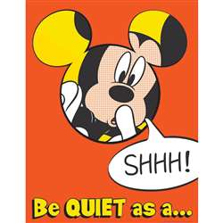 Mickey Quiet As A Mouse 17X22 Poster, EU-837003