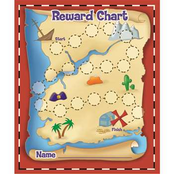 Treasure Hunt Mini Reward Charts By Eureka