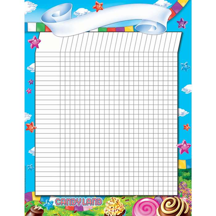Shop Candy Land Incentive Chart 17X22 Poster - Eu-837025 By Eureka