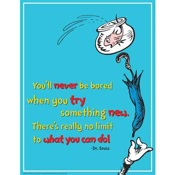 Dr Seuss Try Something New 17X22 Poster, EU-837031