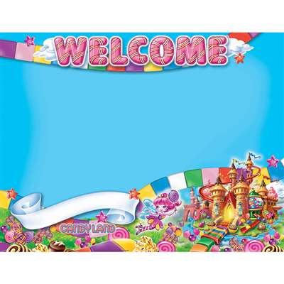 Candy Land Welcome 17X22 Poster, EU-837035