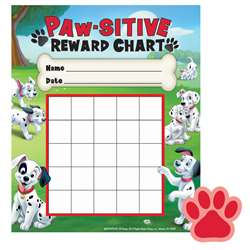 Shop 101 Dalmatians Paw-Sitive Mini Reward Chart Plus Stickers - Eu-837037 By Eureka