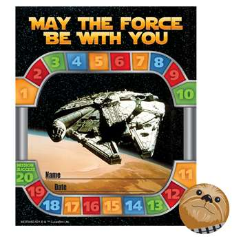 Star Wars Mini Reward Charts With Stickers, EU-837045