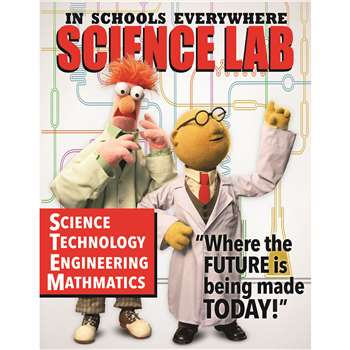 Muppets Science Lab Poster, EU-837222