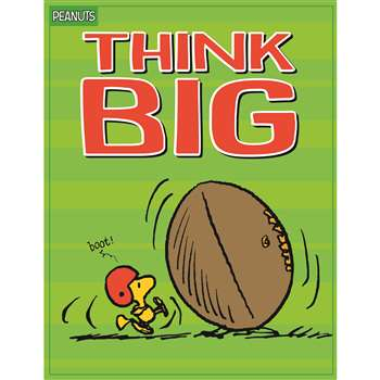 Peanuts Think Big Poster, EU-837247