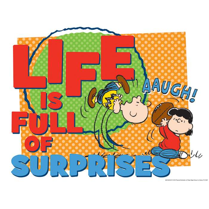 Peanuts Full Of Surprises 17 X 22 Posters By Eureka