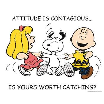 Peanuts Attitude 17X22 Poster By Eureka