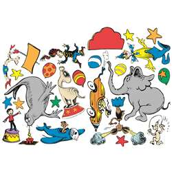 Dr Seuss - If I Ran The Circus 2-Sided Deco Kit, EU-840158