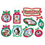 Santa Comin To Town 2 Sided Deco Kit, EU-840159
