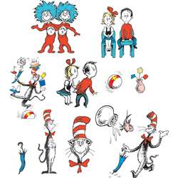 Cat In The Hat Characters 2 Sided Decorating Kit By Eureka