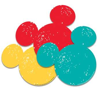 Mickey Mouse Paper Cut Outs, EU-841008