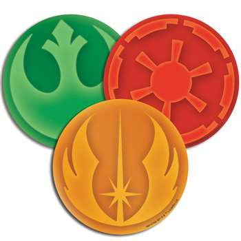 Star Wars Paper Cut Outs Asst, EU-841016