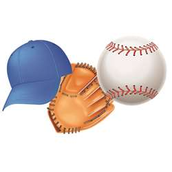 Baseball Assorted Cut Outs By Eureka