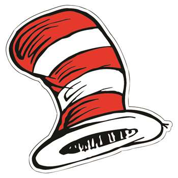 Dr Seuss The Cats Hat Cut-Outs By Eureka