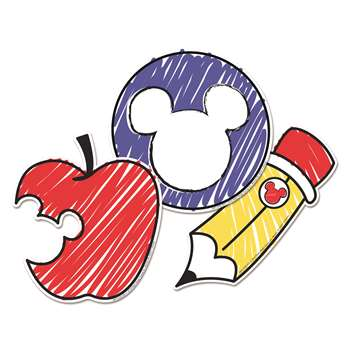 Mickey Color Pop Paper Cut Outs, EU-841335
