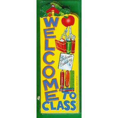 Bookmarks Welcome To Class 36/Pk By Eureka