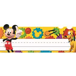 Shop Mickey Mouse Clubhouse Mickey Gears Tented Name Plates - Eu-843504 By Eureka