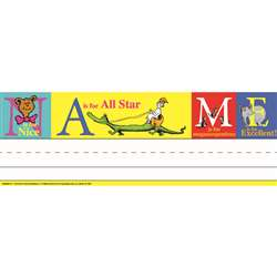 Shop Dr Seuss Abc Tented Name Plates - Eu-843509 By Eureka