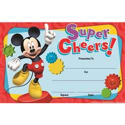 Shop Mickey Mouse Clubhouse Super Cheers Recognition Awards - Eu-844002 By Eureka