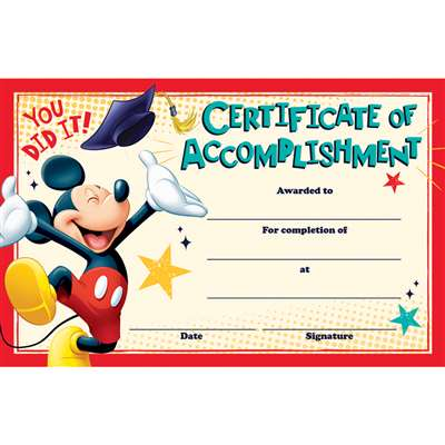 Mickey Graduation Recognition Awards, EU-844206
