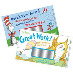 Dr Seuss Scratch Off Rewards By Eureka