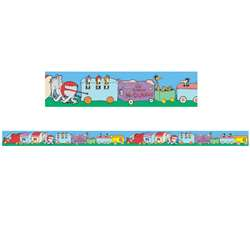 Dr Seuss If I Ran The Circus Trains Deco Trim, EU-844913