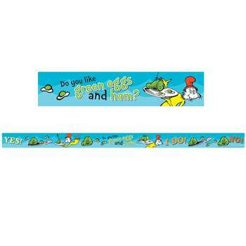 Dr Seuss - Green Eggs And Ham Deco Trim, EU-844914