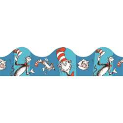 Cat In The Hat Blue Deco Trim By Eureka