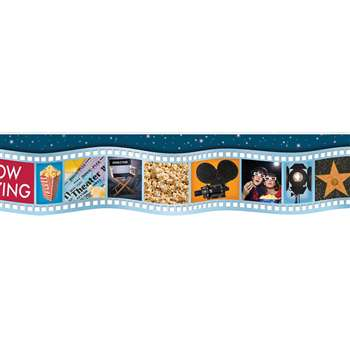 Movie Film Die Cut Deco Trim By Eureka