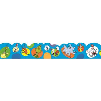 Dr Seuss Bubbles Deco Trim By Eureka