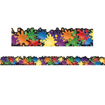 Color My World Extra Wide Deco Trim, EU-845117