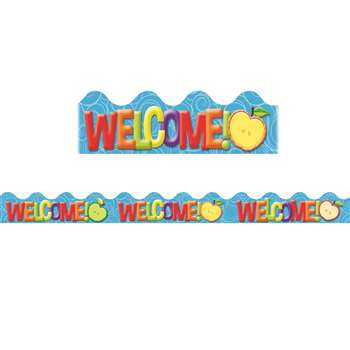 Color My World Welcome Deco Trim, EU-845120
