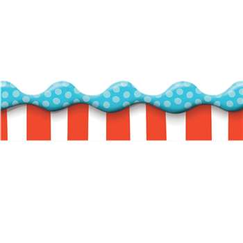Shop Dr Seuss Dimensional Look Extra Wide Deco Trim - Eu-845146 By Eureka