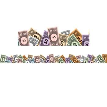 Monopoly Money Extra Wide Die Cut Deco Trim By Eureka