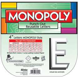 Monopoly Deco Letters By Eureka