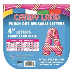 Candy Land Pepper Stripes Deco Letters By Eureka