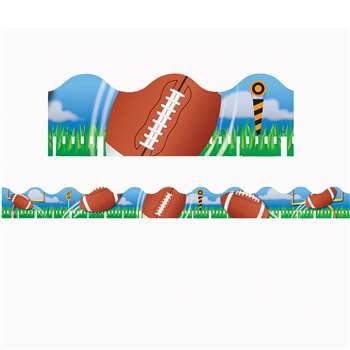 Football Deco Trim By Eureka