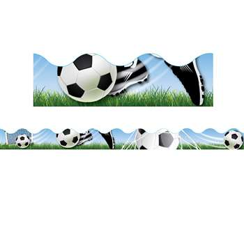 Soccer Deco Trim By Eureka