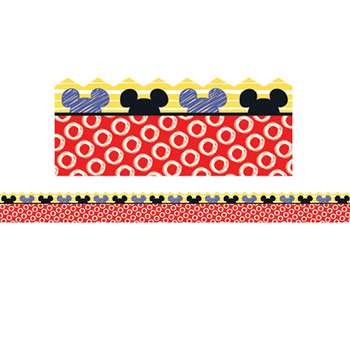 Mickey Color Pop Peeking Head Extra Wide Die-Cut D, EU-845227