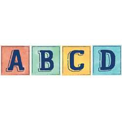 Confetti Splash Deco Letters Blocks, EU-845234