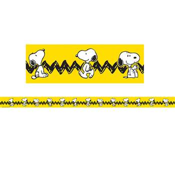 Peanuts Yellow With Snoopy Deco Trim By Eureka