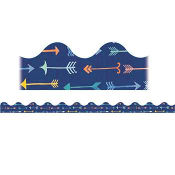Confetti Splash Pointed Arrows Deco Trim, EU-845256