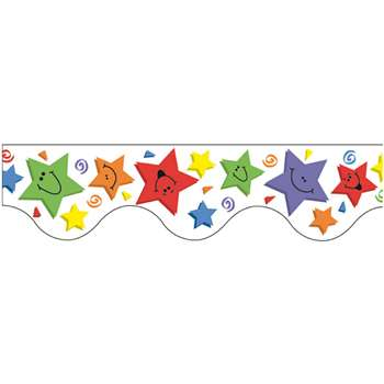 Deco Trim Stars 37Ft By Eureka