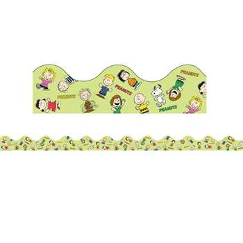 Peanuts Gang Scalloped Deco Trim By Eureka