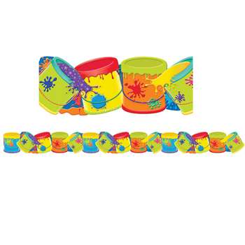 Color My World Paint Buckets Deco Trim, EU-845622