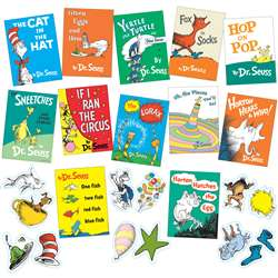 Seuss Books Mini Bulletin Board Set By Eureka